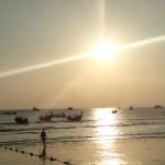 Couché de soleil à Ao Nang Beach