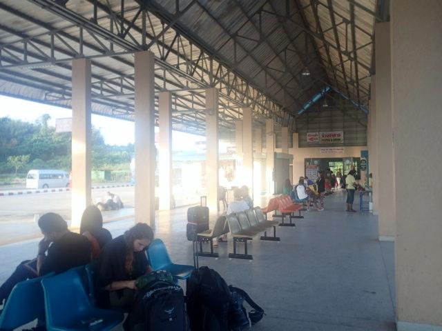 Gare routière de Krabi