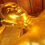 Le fameux bouddha couché de Bkk