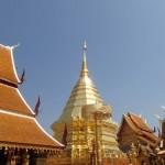 Chedi dominant Wat Suthep