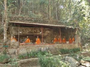 Temple dans la roche