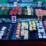 25 centimes le sushi!!!