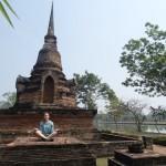 Bain de soleil bouddhique