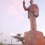 Statue de Ho CHi Minh à Can Tho