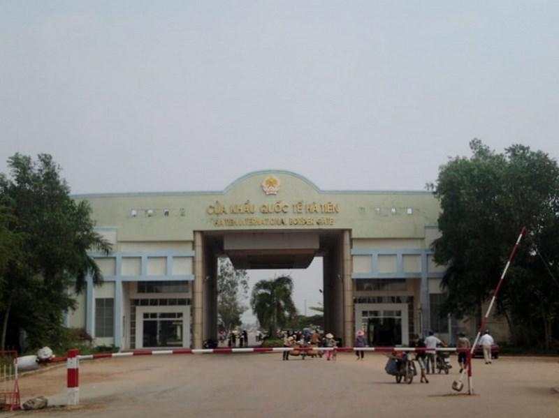 Poste frontière Vietnam/Cambodge