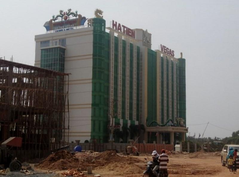 Construction de casinos en zone franche