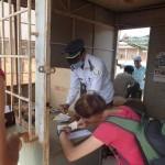 """""""Examen médical"""" à la frontière ; obligatoire et payant bien sûr"""