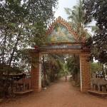 Entrée d'une pagode