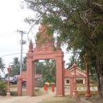 Rentrée des moines au temple après la collecte