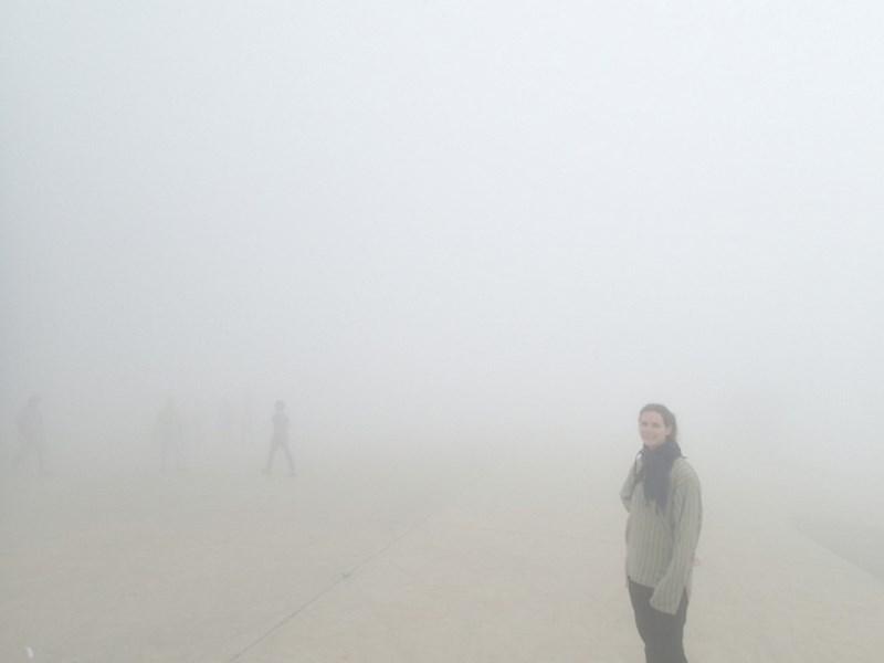 Brouillard en haut de la montage