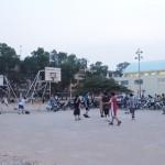 Terrain de basket !!