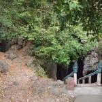 Killing cave où les khmers rouges jetaient des sommets de la grotte les intellectuelles