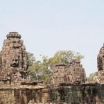 Le Bayon, temple de la ville d'Angkor Thom
