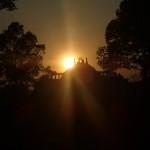 Couché de soleil sur le Baphuon