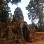 Porte d'entrée du Banteay Srei