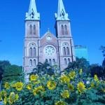 Eglise de Notre Dame dans le centre de HCM