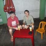Nuoc Mia (jus de canne à sucre) dans la rue