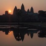 Angkor wat au levé du soleil