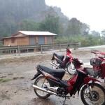 Premier jour : pluie diluvienne