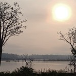 Départ le deuxième jour au levé du soleil