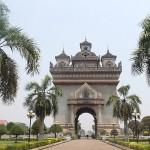 Arc de triomphe à Vientiane