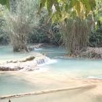 Cascade de Kuang Si près de LP