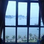 Vue panoramique depuis notre chambre