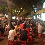 café de rue à Hanoi