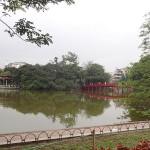 Temple sur le lac