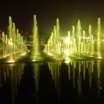 Spectacle eau son et lumière