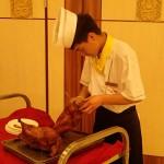 Le fameux canard laqué de Pékin!!