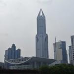 Shanghai et ses innombrables building futuristes