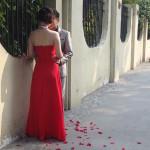 L'ile est choisie par les mariés pour leurs photos de noces