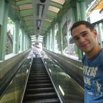 Escalator de plusieurs km en plein centre ville