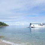 Arrivée à Moyo Island