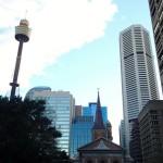 Sydney Tower, point le plus haut de la ville