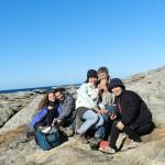 Pic nic avec nos hôtes Bill et Tina, et leur amie Chow