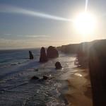 Coucher du soleil sur les 12 Apôtres