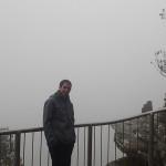 Dans la chaine des Grampians un jour de mauvais temps