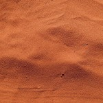 Sable rouge du desert!