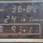 Record : 2,41$ le litre d'essence en plein désert!