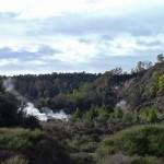 Rotorua, région géothermique