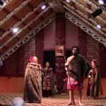Spectacle de danse maori