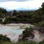 Vue panoramique du site