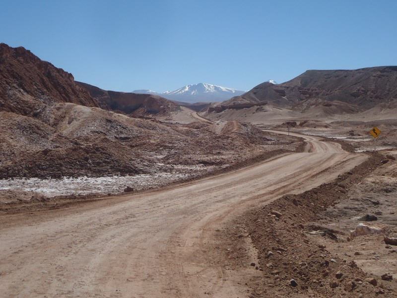Vallée de la Mort à vélo
