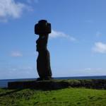 Notre premier Moai :-)