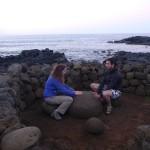 Selon la tradition locale, toucher la pierre centrale permet d'obtenir de l'énergie