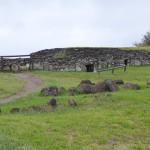 Village religieux d'Orongo où dormaient les compétiteurs
