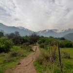 Randonnée d'une journée dans les Andes