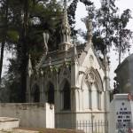 Une tombe édifiée par une famille fortunée